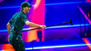 Enrique Iglesias Performs at Mediolanum Forum on Nov. 2, 2019 in Milan, Italy.