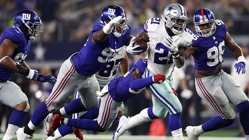 Giants Say They Will Be Ready For Cowboys With Or Without