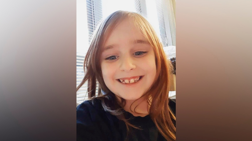 This undated photo provided by the Cayce Department of Public Safety shows Faye Marie Swetlik, who was found dead Thursday, several days after she was reported missing shortly after getting off her school bus near her South Carolina home on Feb. 10, 2020.