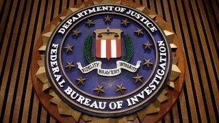 A file photo of the FBI logo.