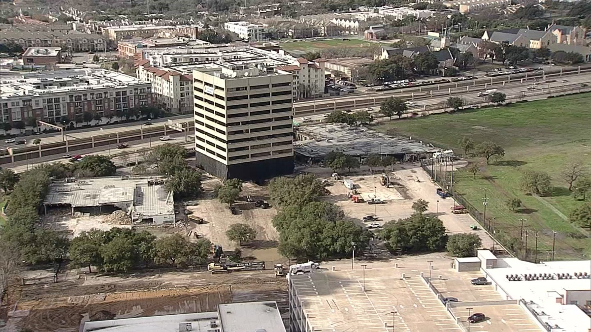 Dallas Building Implosion Will Impact Roads, DART Service Sunday