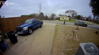 North Richland Hills police have shared a video of a person of interest who they are hoping to identify or speak with regarding an assault on a teenager Feb. 10, 2020, near Susan Lee Lane and North Electric Trail.