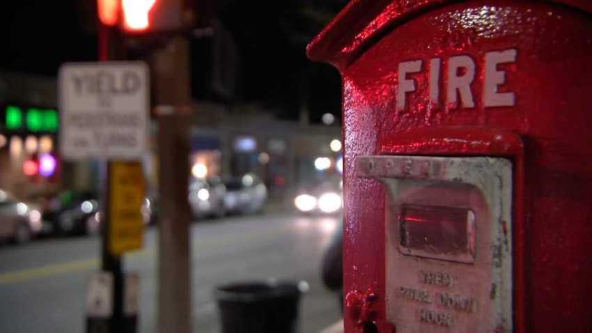 Fire Department generic night