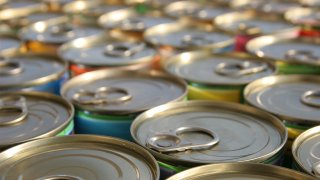 tops of canned food
