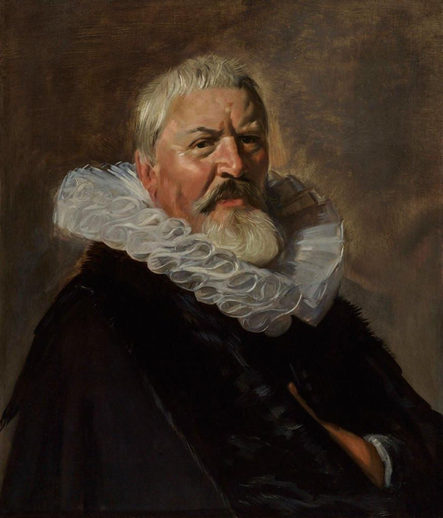 Frans Hals, Portrait of Pieter Jacobsz.Olycan,1629-1630, oil on panel, Private Collection