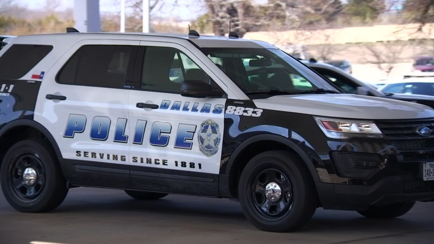 Generic Dallas Police SUV