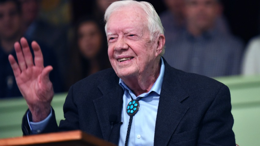 Expresidente Jimmy Carter