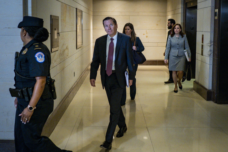 Trump Firing Inspector General Who Flagged Ukraine Whistleblower Complaint