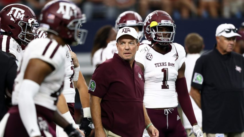 Texas A M Jimbo Fisher Handed Recruiting Penalties By Ncaa Nbc 5 Dallas Fort Worth