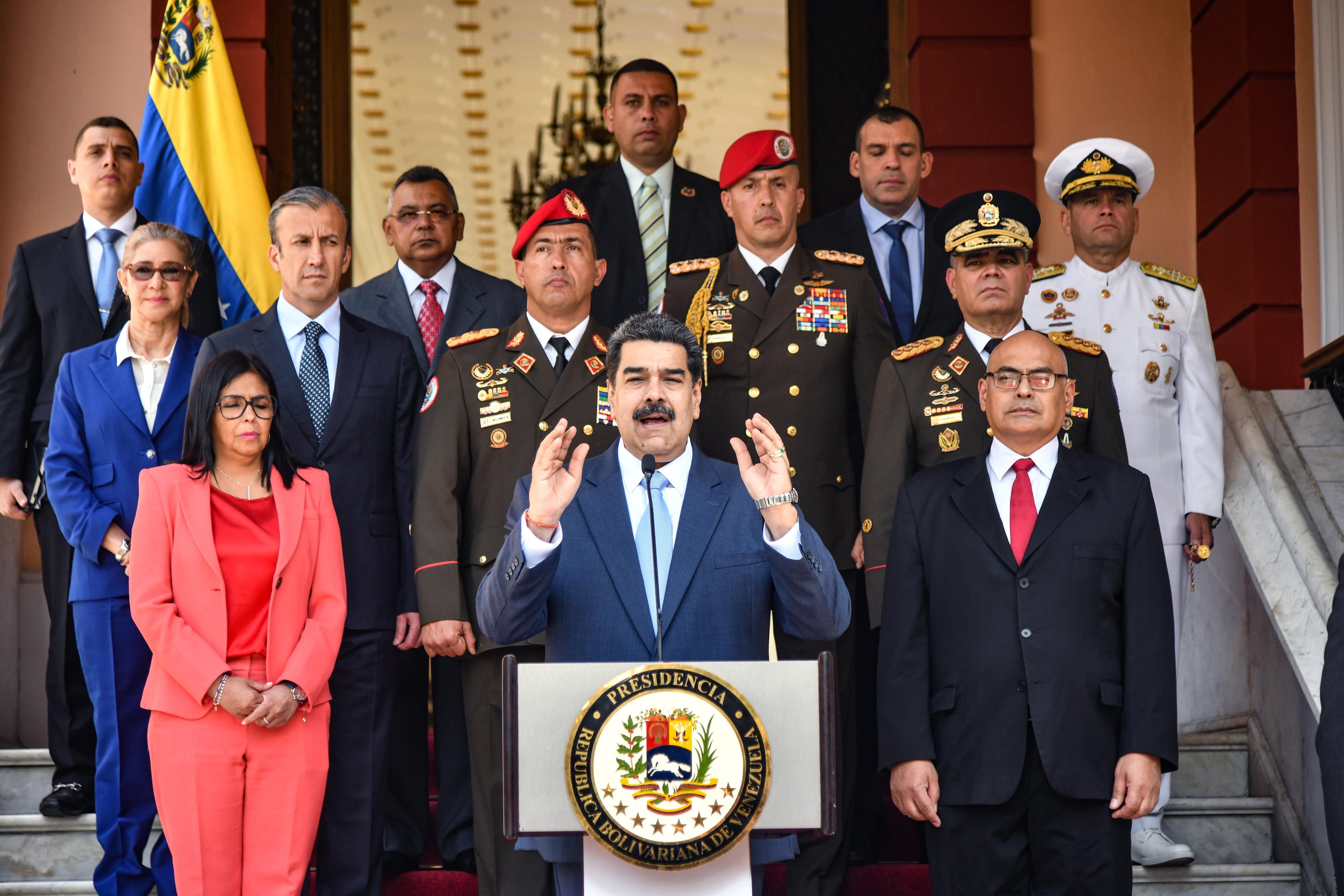 US Outlines Plan for Venezuela Transition, Sanctions Relief