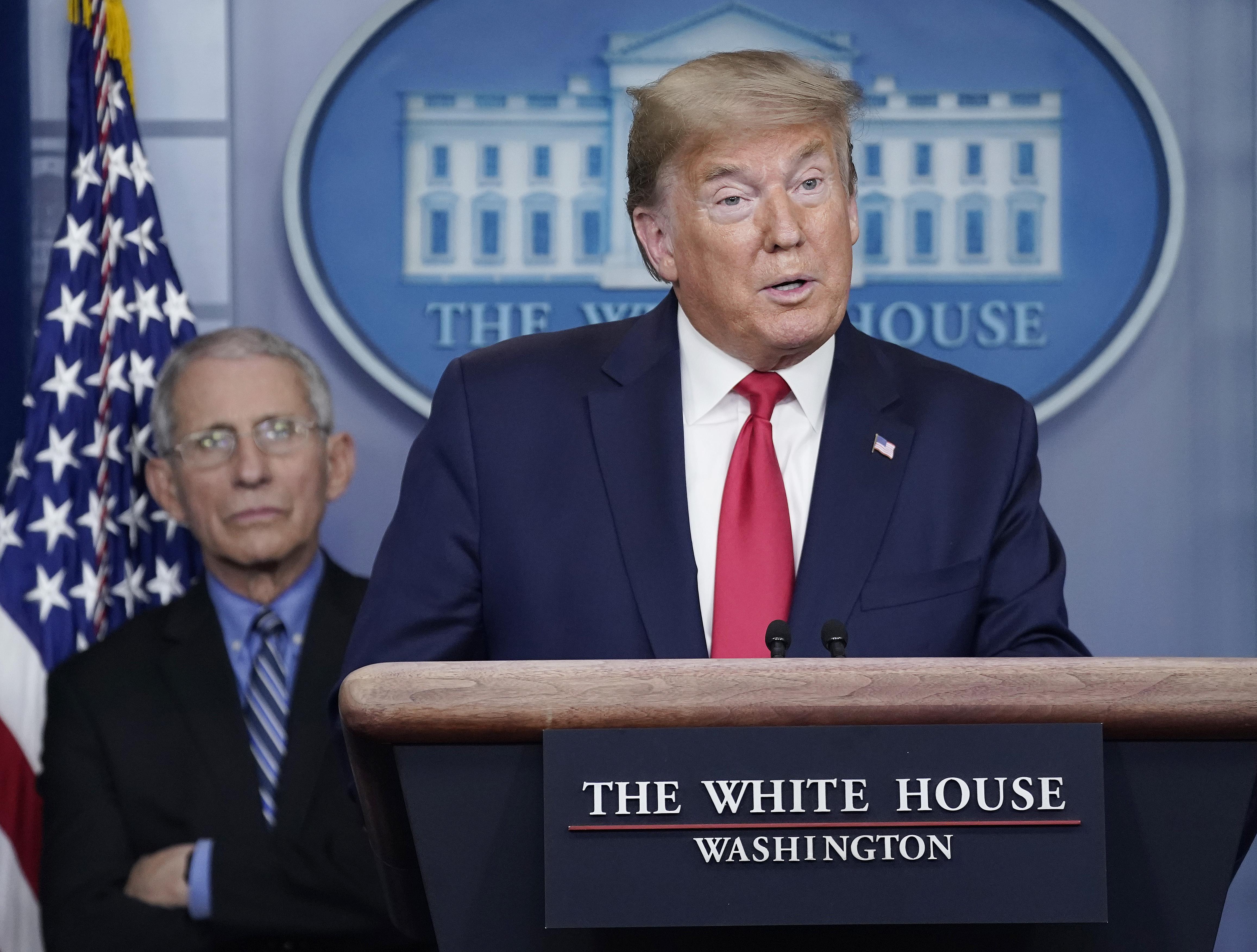 Fact Check: Trump's Misfires on Coronavirus Death Rates, Tests