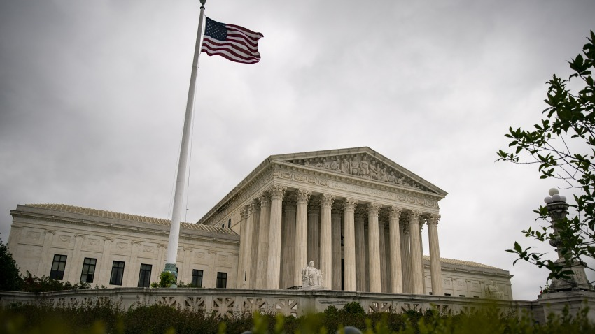 The U.S. Supreme Court building stands in Washington, D.C., U.S., on Wednesday, June 17, 2020.