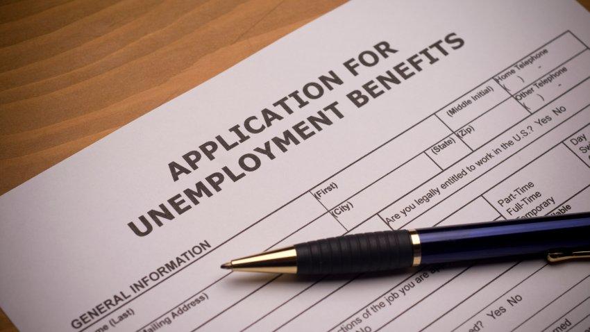Unemployment benefits application