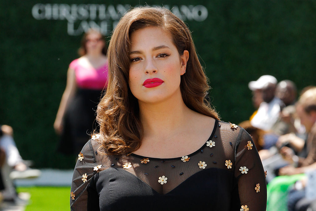 New Mom Ashley Graham Opens Up About Changing Diapers — Her Own