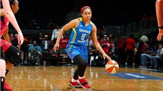 Allisha Gray #15 of the Dallas Wings