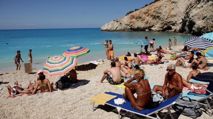 Greek resort