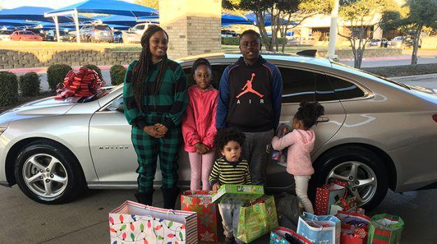 "Denton County Mother of Four Receives a New Car Through ""Rides for Hope"" Program"