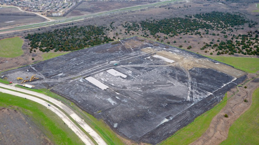 A new Amazon distribution center is under construction in Forney. The 200,000-square-foot center is expected to be completed in late 2020.