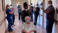 85-Year-Old Waxahachie Woman Recovers from COVID-19, Gets Warm Welcome Home