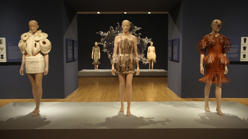Iris van Herpen Transforming Fashion_Dallas Museum of Art (6)_May 2017_photo cred. Courtesy of Dallas Museum of Art