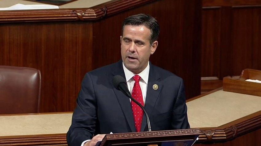 U.S. Rep. John Ratcliffe (R-Rockwall) on the House floor Wednesday, Dec. 18, 2019.