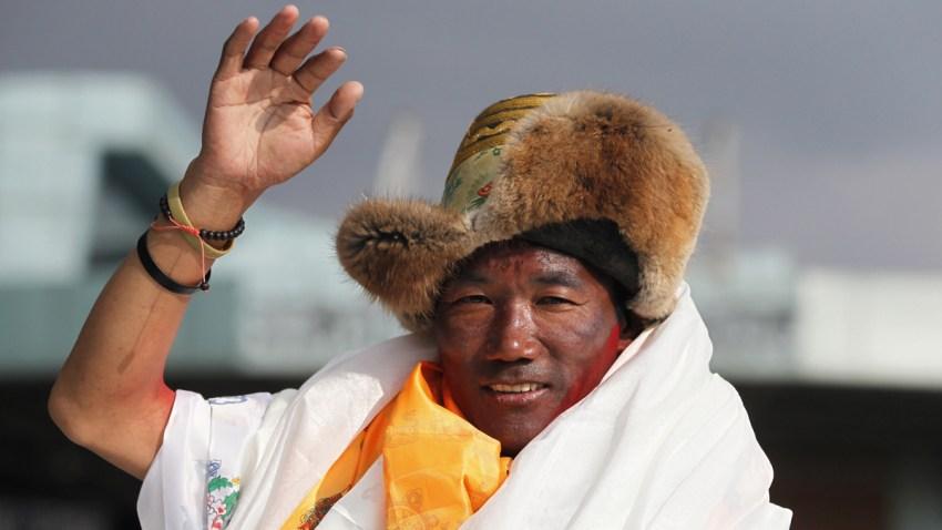 Nepal Everest Record