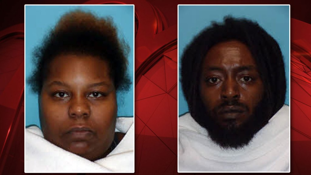 Thirty-six-year-old Bianca Newman, left, and 32-year-old Anthony Holliman.