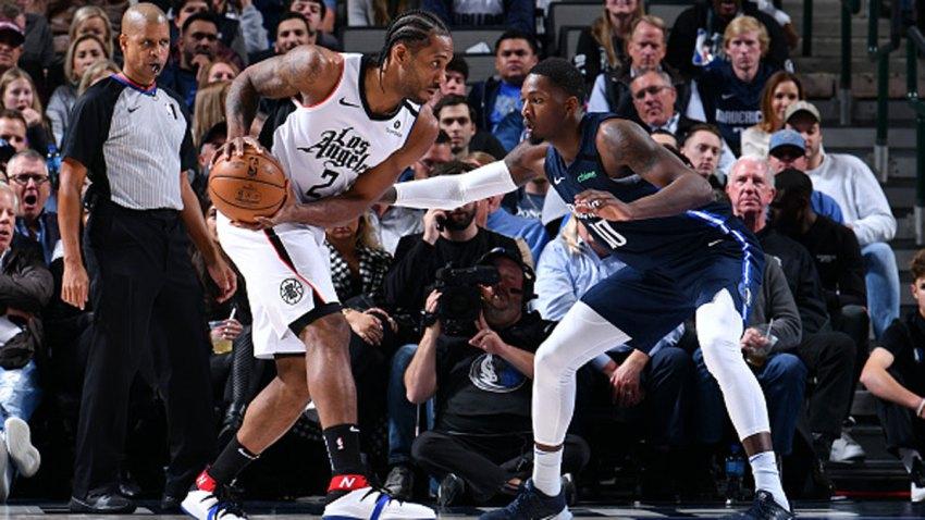 Leonard Scores 36 To Lead Clippers Past Mavericks Nbc 5
