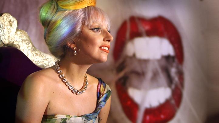 APTOPIX India Lady Gaga