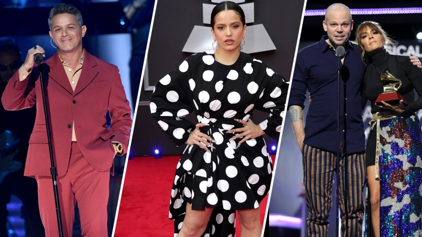 Latin Grammy Winners Newest