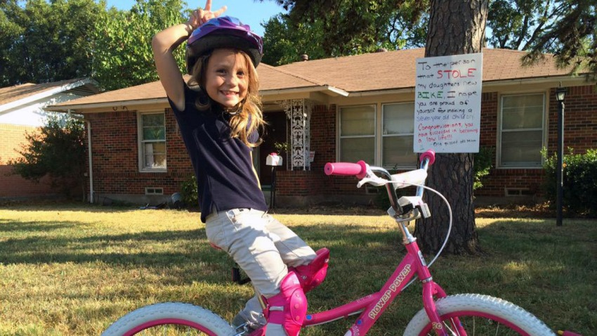 Lorelai new bike