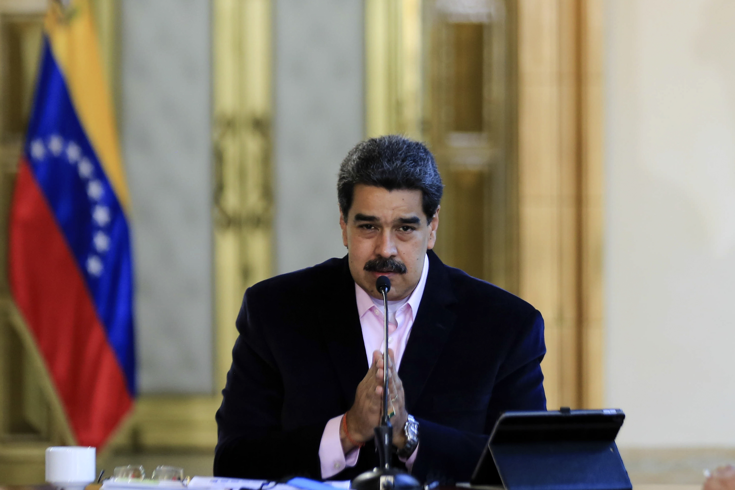 A Defiant Maduro Threatens 'Cowboy' Trump After Drug Charge