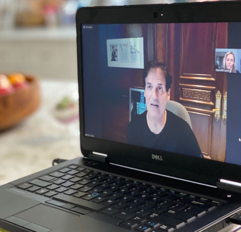Like most Americans, Dallas Mavericks owner Mark Cuban is conducting business via zoom. One of his biggest tasks is serving on President Trump's economic recovery task force.