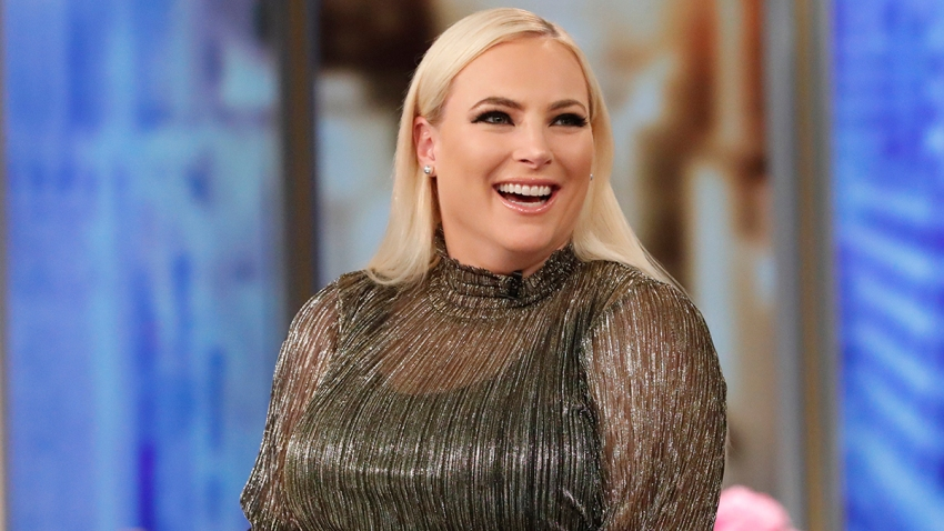 "In this file photo, Meghan McCain appears as co-host of ""The View"" on May 15, 2019."