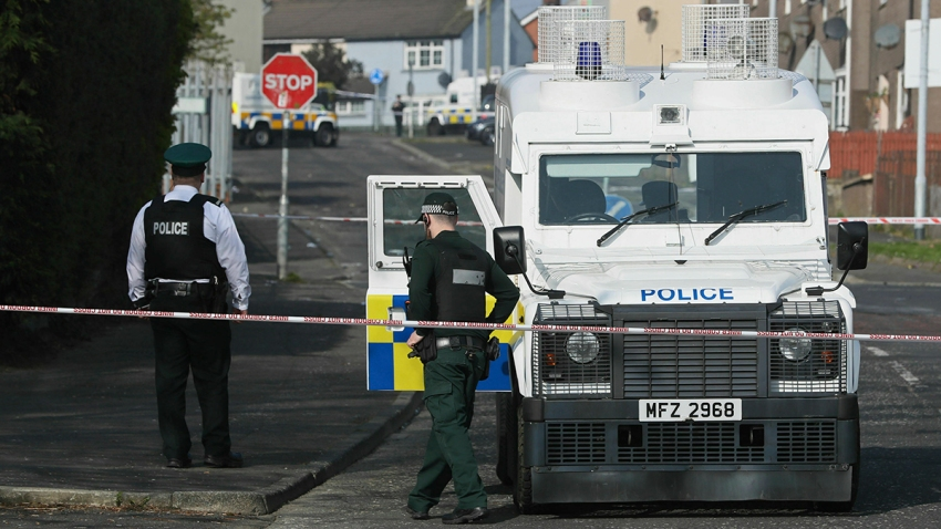 Britain Northern Ireland Journalist Killed