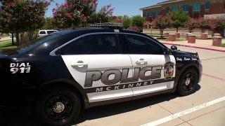 McKinney police car