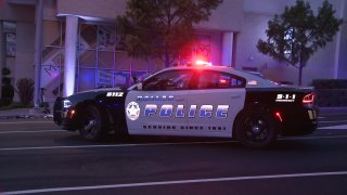 Dallas police patrol car generic
