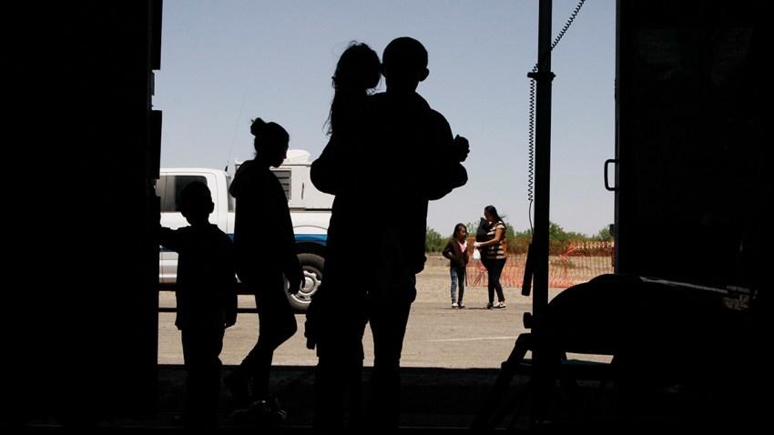 CORRECTION Immigration Drop Offs