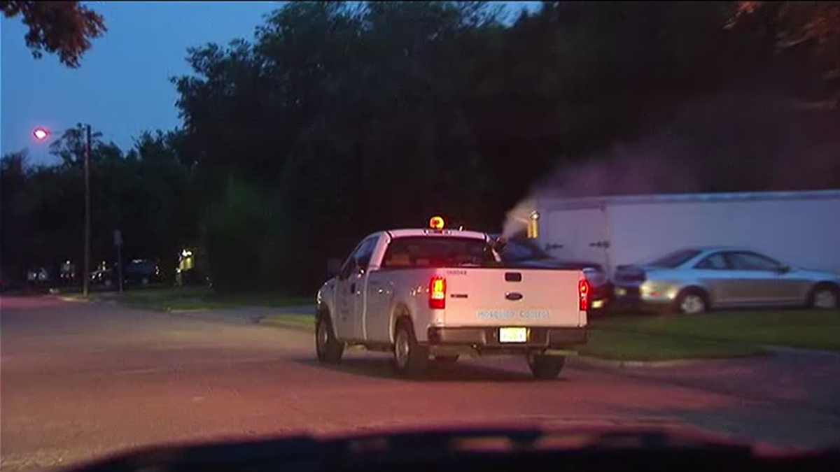 Mosquito Spraying in Three Areas of Dallas After Mosquitoes Test Positive for West Nile Virus