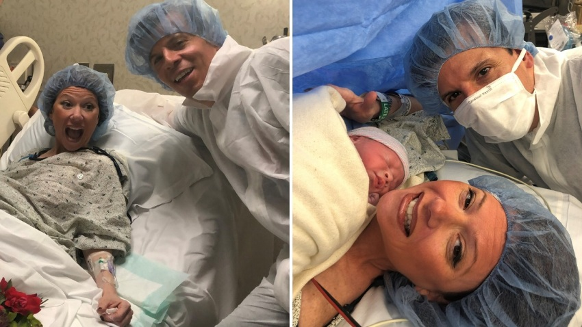 NJ Couple Weds Has Baby in Less Than One Minute (2)