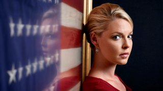 "In this file photo, Katherine Heigl as Charleston Tucker in ""State of Affairs."""