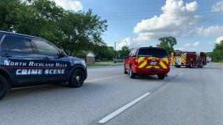 North Richland Hills Car Crash