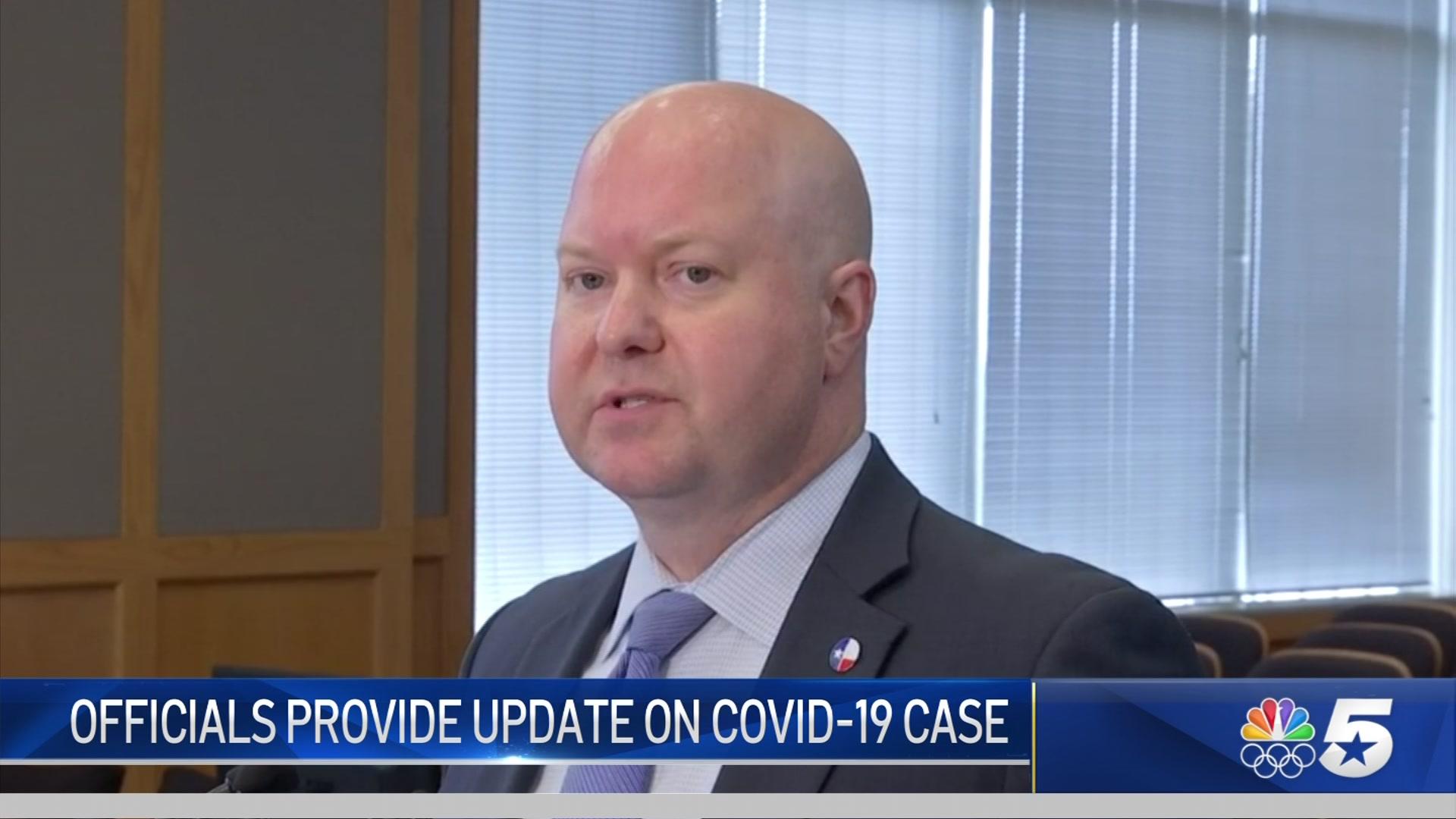 Collin County Judge Discusses Presumptive COVID-19 Case – NBC 5 ...