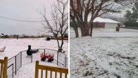Your Pictures of Snow in North Texas on Jan. 11, 2020