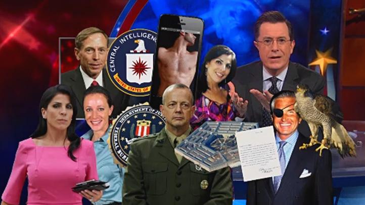 Petraeus Scandal Colbert