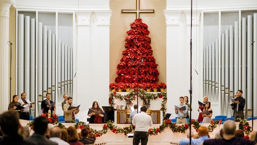 Photo 1 of Verdigris Ensemble Christmas concert in 2017