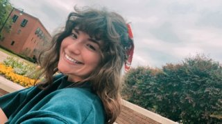 Gabriella Ybarra, 19, gave herself bangs during the coronavirus pandemic. Ybarra, a freshman at Mississippi State University, decided to cut her hair while bored and self-quarantining on campus after seeing TIkTok users post about modifying their hair.
