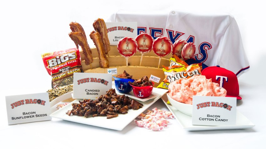 Rangers Bacon Concession Stand
