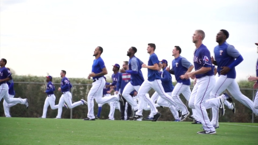 Rangers Spring Training 021719
