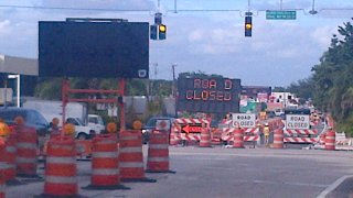 Red Road construction